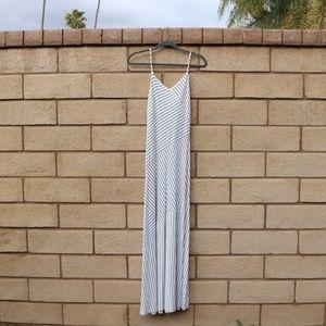🌻 ANN TAYLOR striped maxi dress